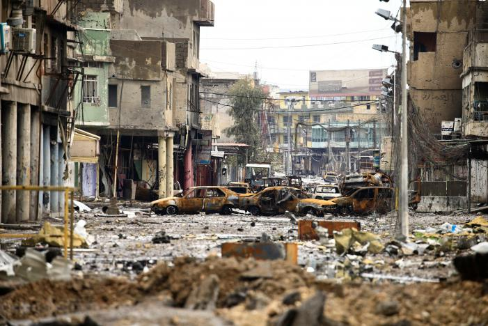 Iraqi CTS Forces to Push against Last ISIS-held Pocket in Mosul's Old City