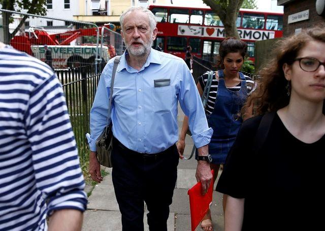 Opposition Leader Corbyn Urges UK PM May to Quit over Police Cuts