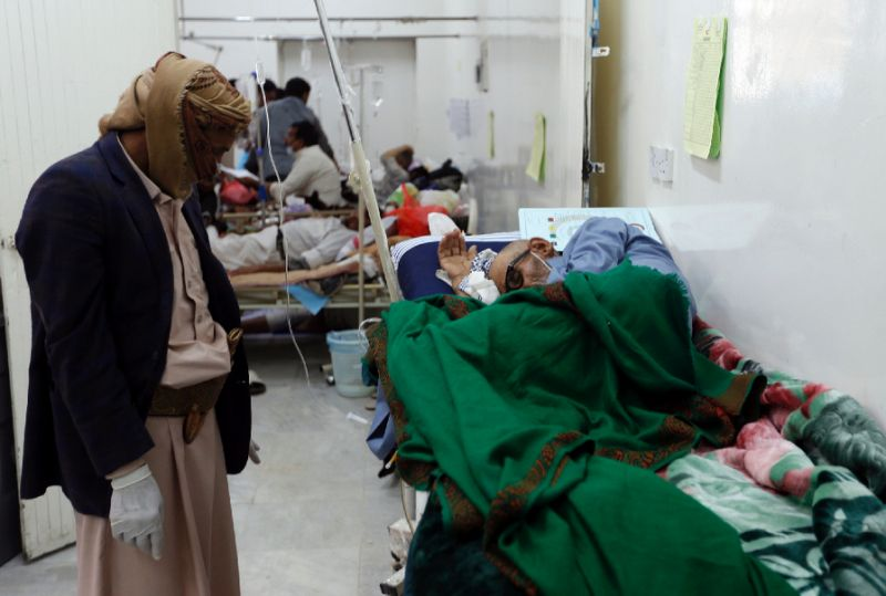 WHO: Over 780 Cholera Deaths, in Yemen in past month