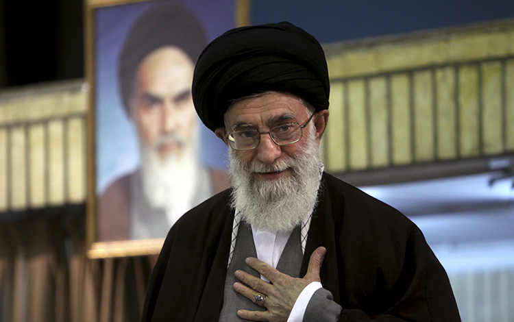Khamenei Finger-Wagging Threatens Rouhani with Impeachment