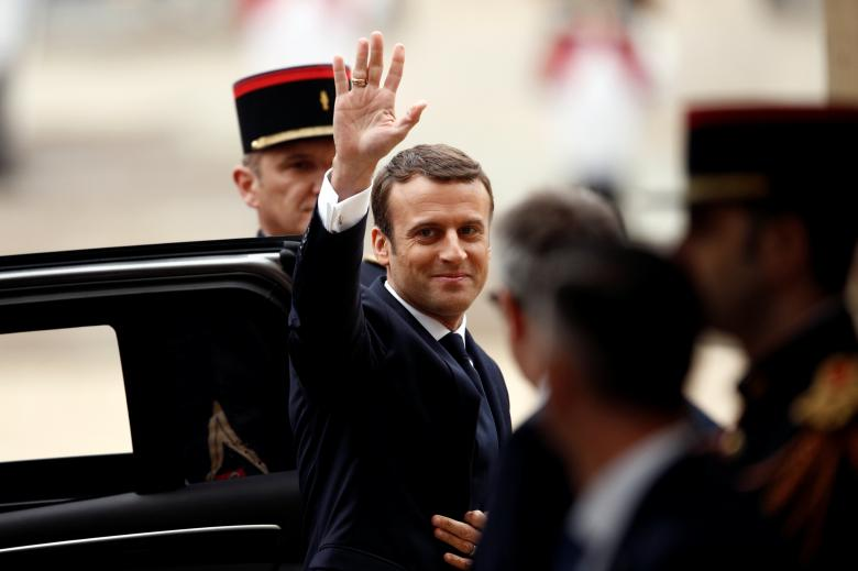 Macron in Morocco on His First Official Visit Outside Europe