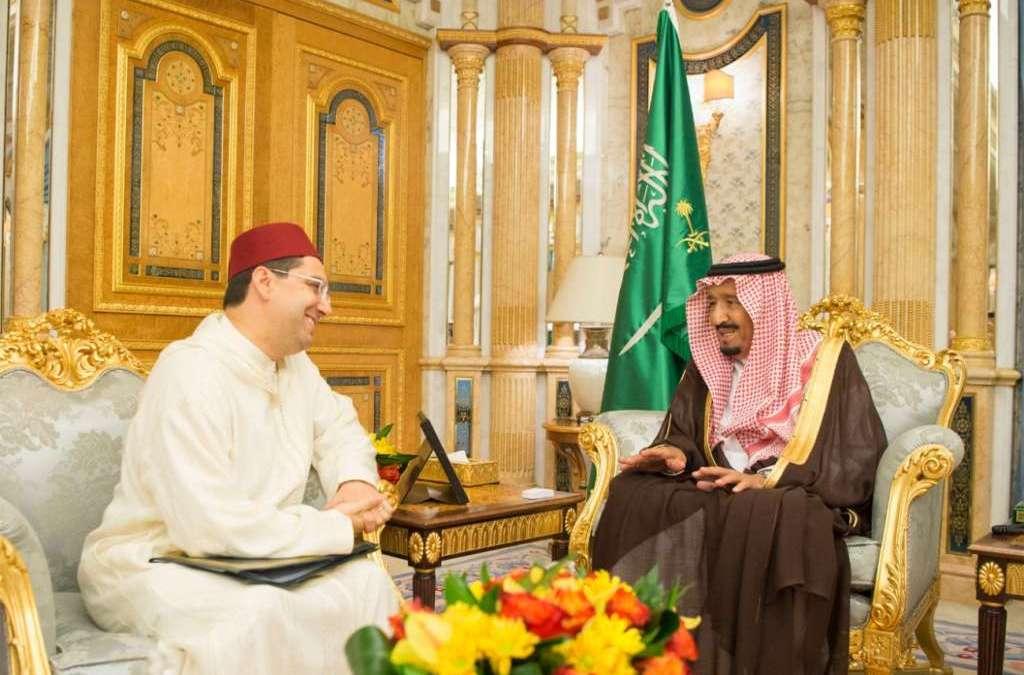 King Salman Receives Morocco's FM in Jeddah