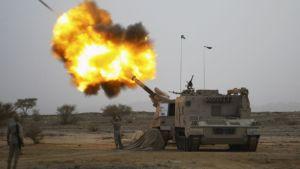 Houthi attack on Saudi border town of Najran. Reuters