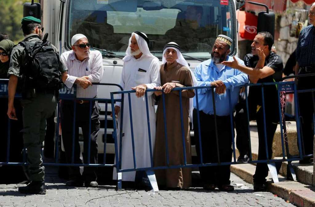 Jordan, Israel Seek to Find Compromise over Al Aqsa E-gates