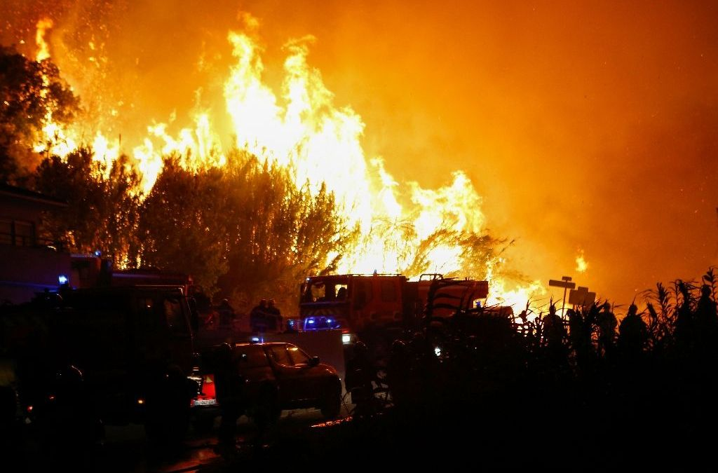 Firefighters Struggle to Extinguish Fires Raging in Southern France