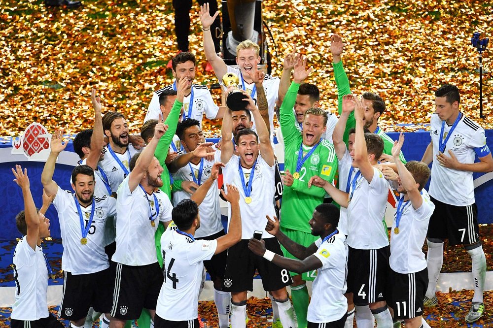 Germany Defeats Chile to Win Maiden Confederations Cup Title