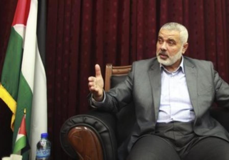 Haniyeh Says Hamas Ready to Hold Presidential, Legislative Polls