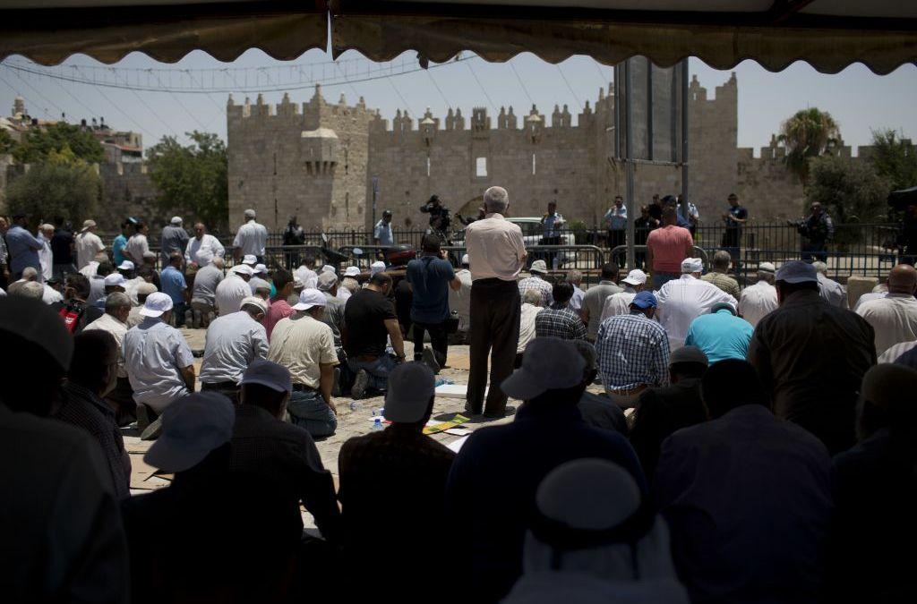 Fears of Escalation in Jerusalem after Death of 2 Policemen, 3 Arab-IsraeliGunmen