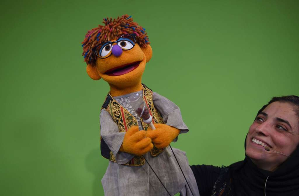 Sesame Street Supports Gender Equality in Afghanistan