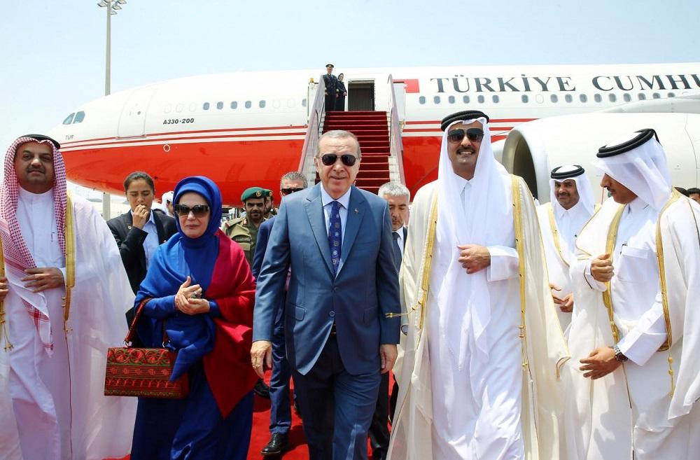 Erdogan Ends Gulf Tour without Making Progress in Resolving Qatar Crisis