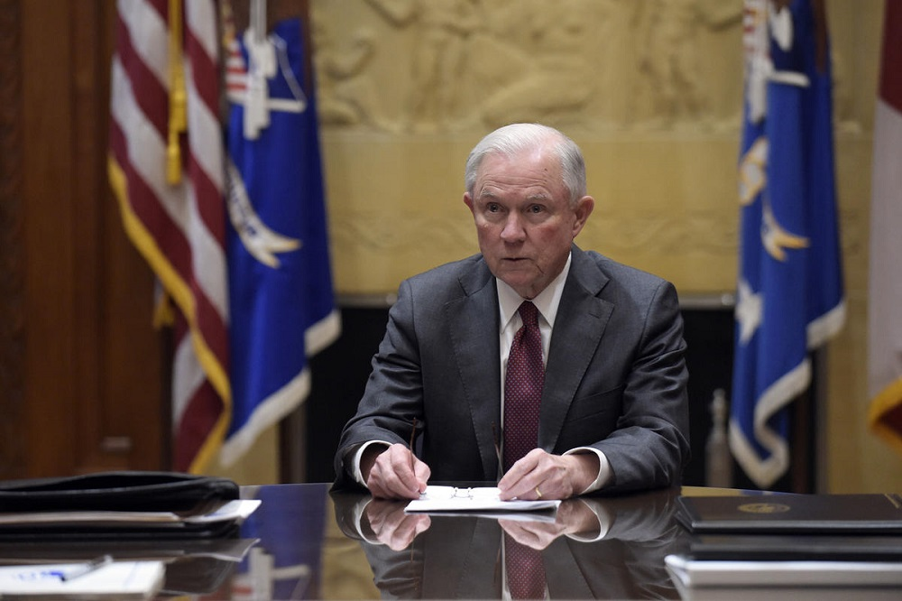 Washington to Take Decision over Attorney General Sessions 'Soon'