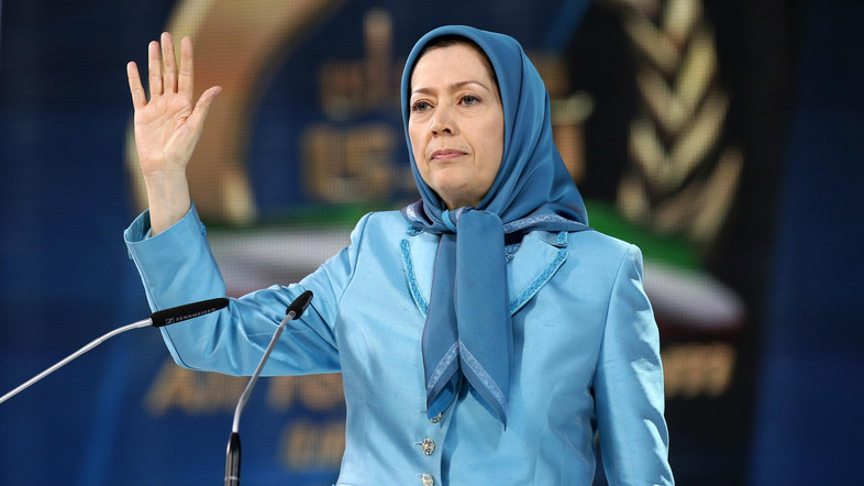 Iranian Opposition Annual Convention in France Calls for Regime Change