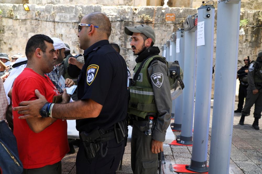 Metal Detectors Lead to New Confrontations in Al-Aqsa
