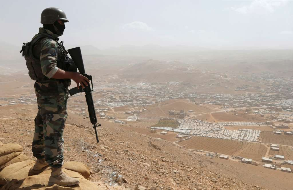 Hezbollah Launches Operation to Clear Militants from Arsal Outskirts