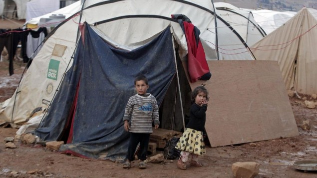 US Pledges Extra $140 mln to Lebanon for Syrian Refugees