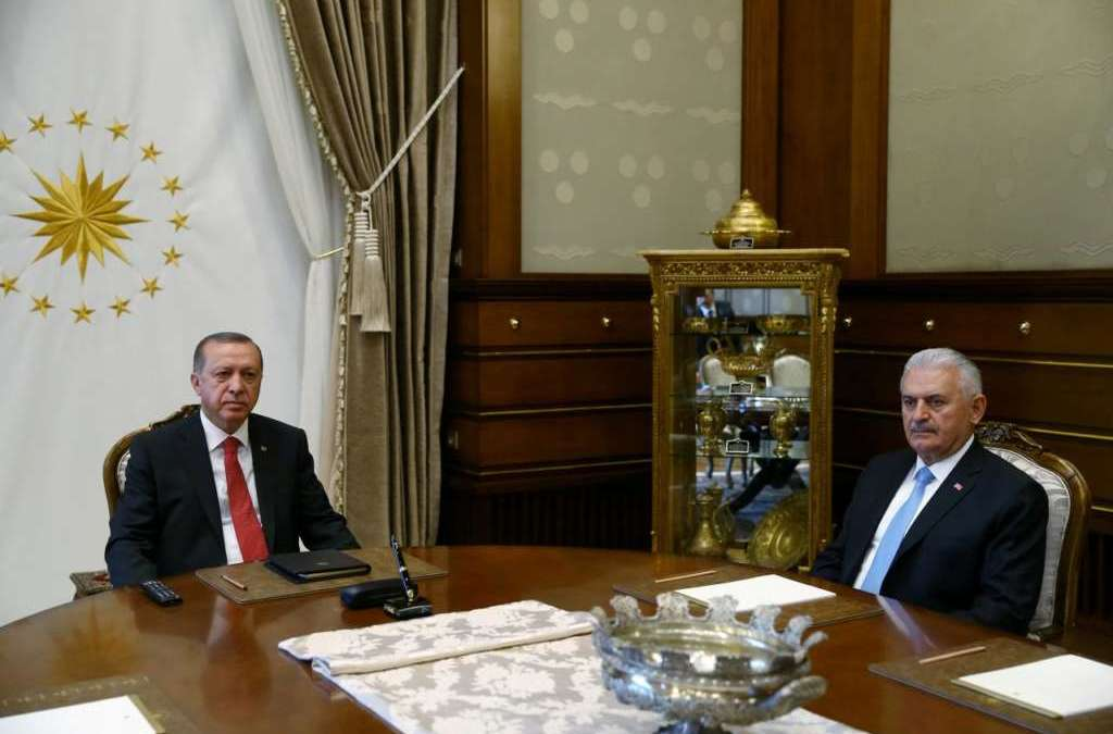 Erdogan Keeps his Grip on the Government to Set the Stage for Presidential System