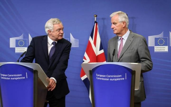 Brexit Negotiations Begin Amid Feuds in London