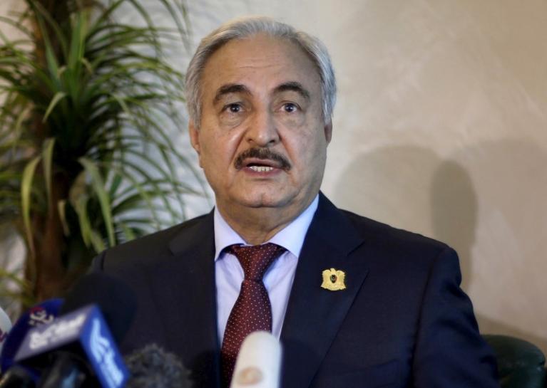 Haftar: Paris Meeting is Sarraj's Last Chance