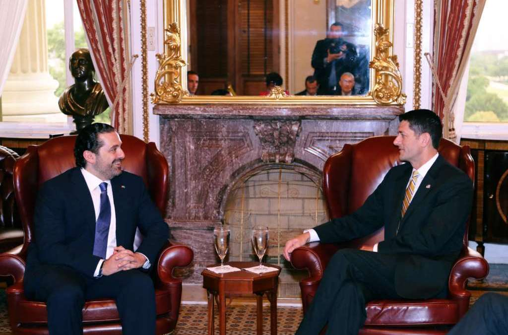Hariri Calls for Protection of Lebanese Banks from Repercussions of Sanctions against Hezbollah