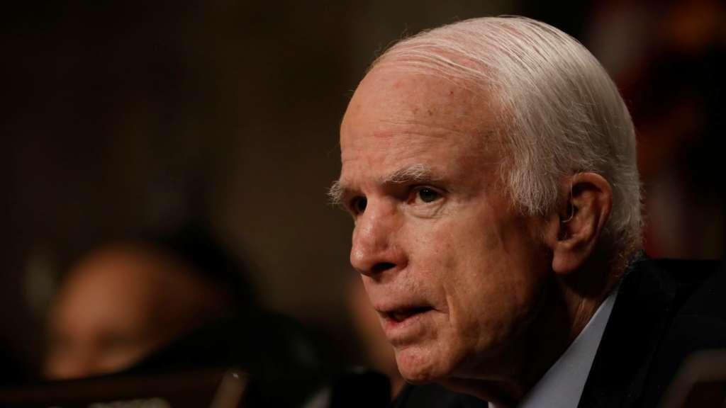 Office: US Senator McCain Diagnosed with Brain Cancer