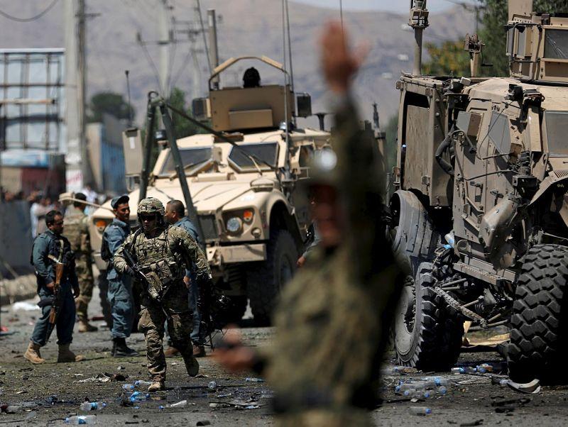 Dozens Killed in Kabul Car Bombing Claimed by Taliban
