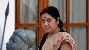 Indian External Affairs Minister Sushma Swaraj. Reuters