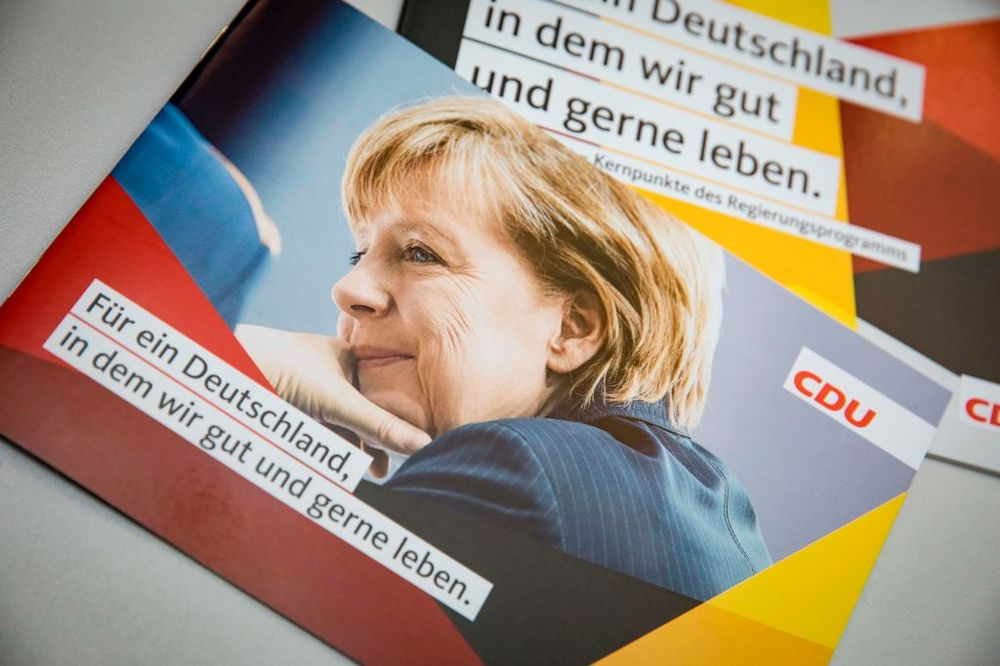 Merkel Wins by Not Being There