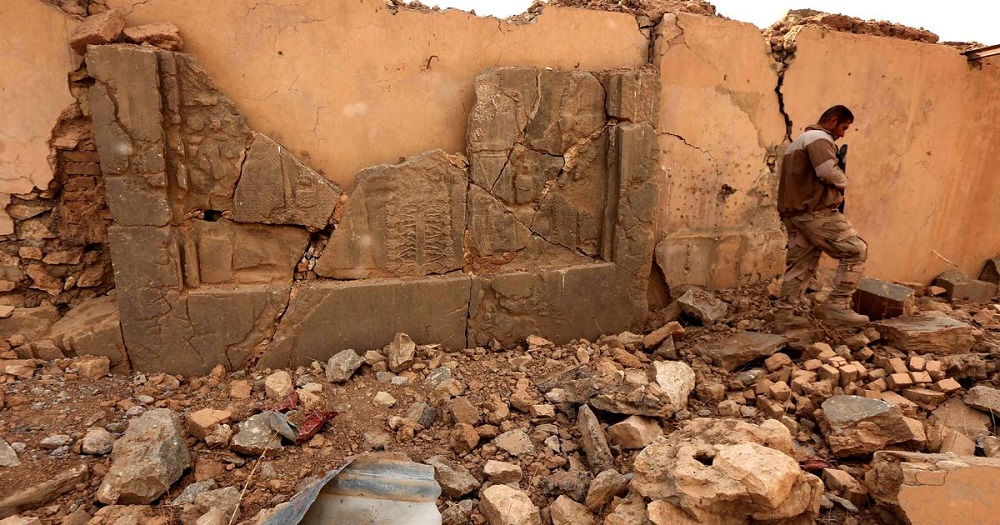 In Ruins of an Iraqi City, Memories of Agatha Christie