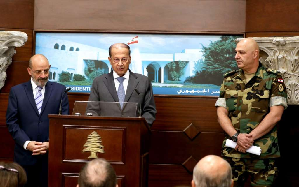 Lebanese President, Army Commander Declare Victory over Terrorism