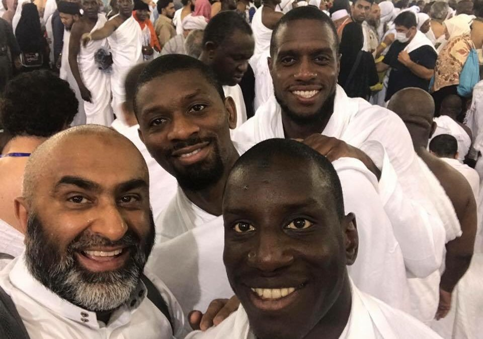 Footballers Abou Diaby, Demba Ba, Jacques Faty Perform Umrah