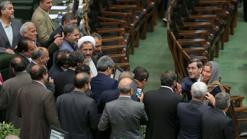 Iran: Lawmakers' Selfie with EU's Mogherini Sparks Nation-Wide Heated Debate