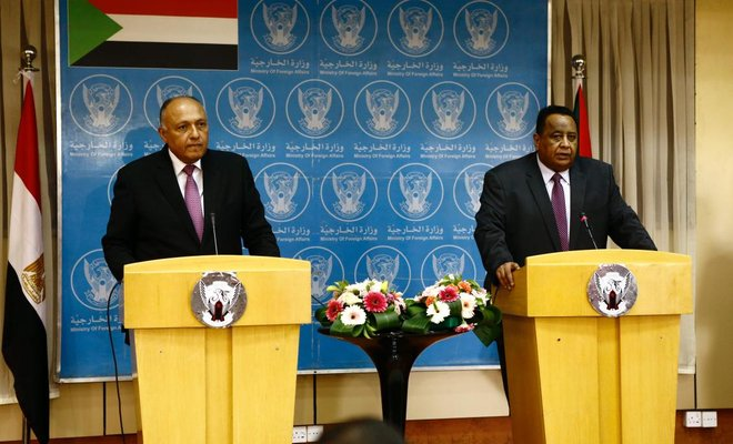 Egyptian, Sudanese FMs Meet to Diffuse Tension