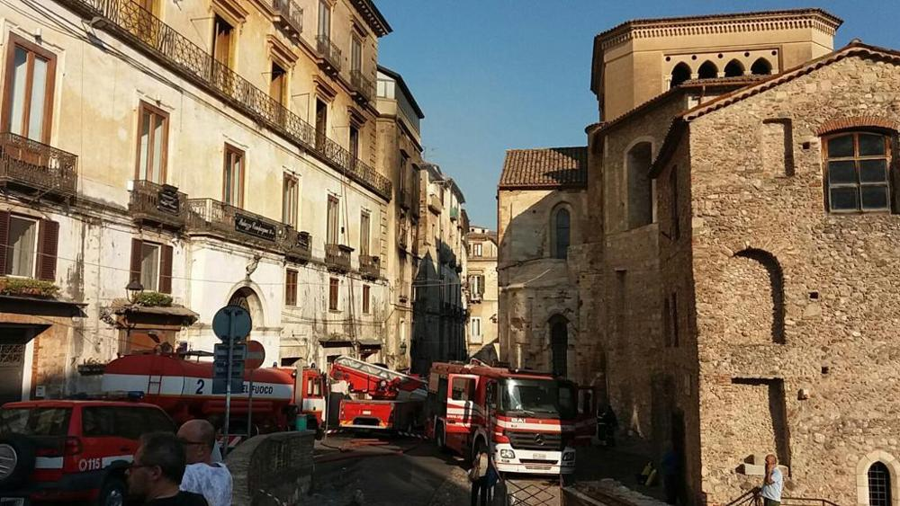 Fire in Historical Italian Building Destroys Priceless Renaissance Manuscripts