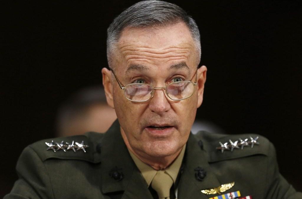 Dunford Warns Pyongyang that US military Ready as China Bans some North Korean Imports