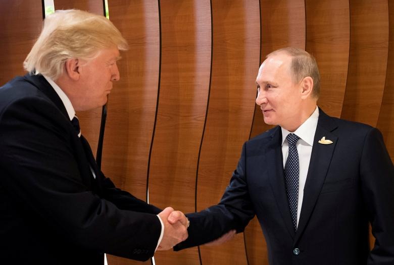 Trump Blames Congress for Deteriorating Relationship with Russia