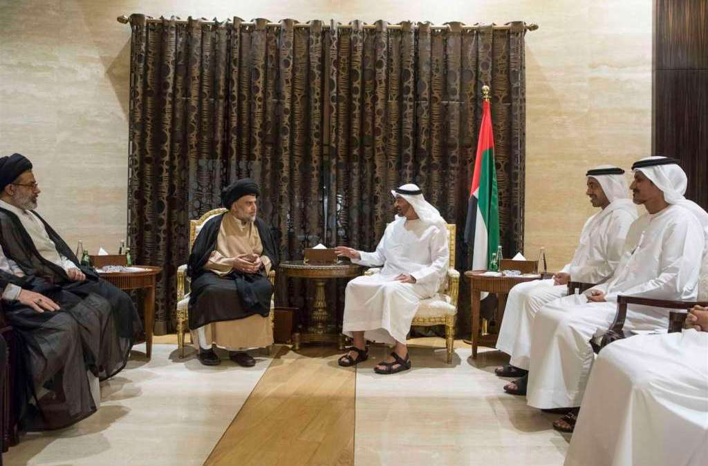 Abu Dhabi Crown Prince Welcomes Moqtada Al Sadr