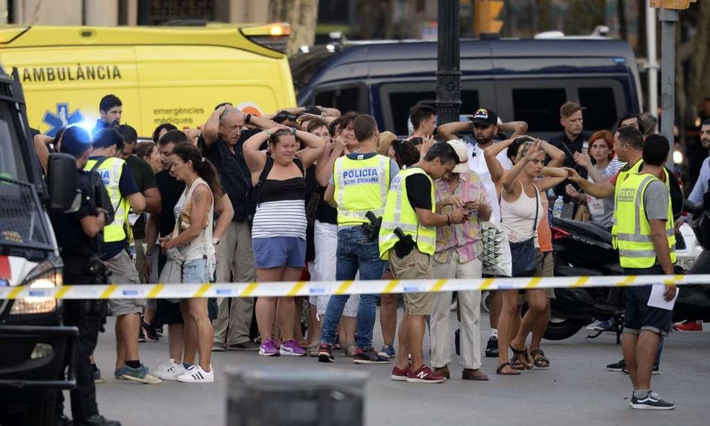 Van Mows down Dozens of Civilians in Spain