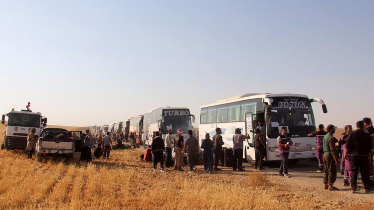 Syrian Regime Releases 104 Nusra Captives in Keep with Arsal Deal
