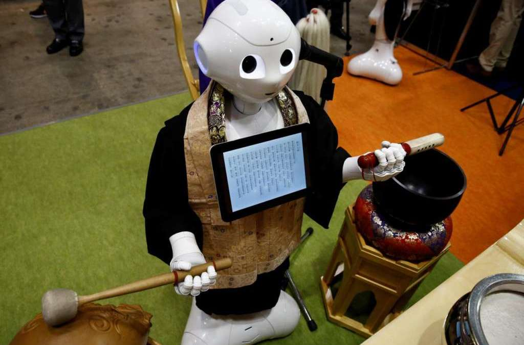 Japanese Robot Could Host Buddhist Funerals