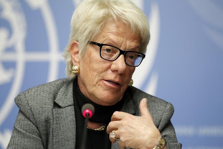Carla Del Ponte Quits UN Syria Inquiry
