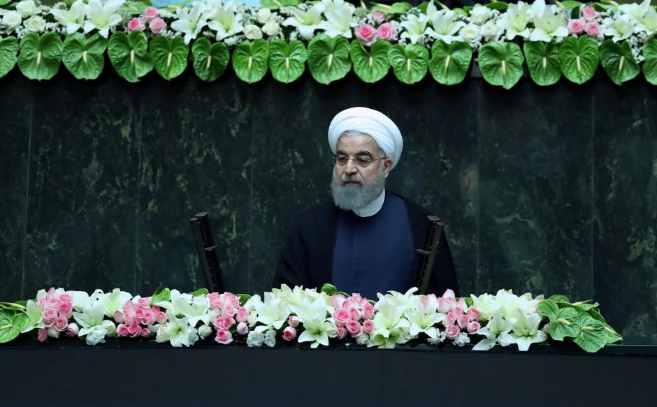 Rouhani Inaugurated President for a Second Term