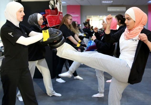 Jordan's Women Fight Harassment through Kick-Boxing, Legal Battles