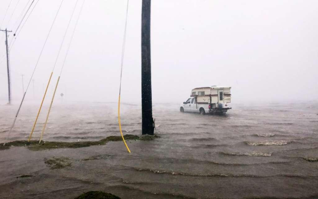 Trump Signs Disaster Declaration as Hurricane Harvey Makes Landfall in Texas