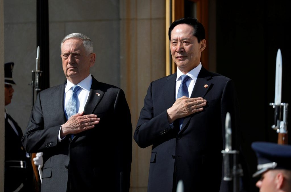 Seoul Boosts Defenses as Washington Agrees to Face Pyongyang