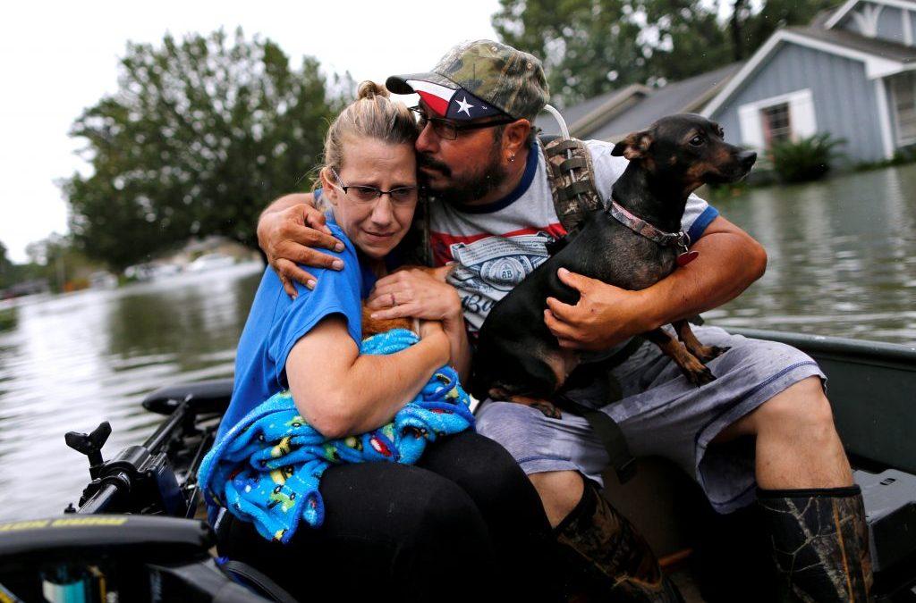 Texas Governor Estimates Hurricane Harvey Losses to Reach $180 Billion