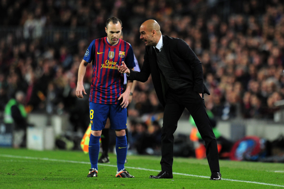 Guardiola: My Debt to Andrés Iniesta and how he Opened my Eyes on Tactics