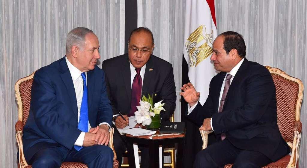 Sisi, Netanyahu Discuss Security Guarantees in Gaza, Revival of Peace Talks