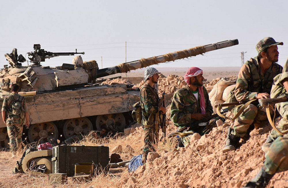Deir al-Zour-Damascus Highway in Regime's Grip