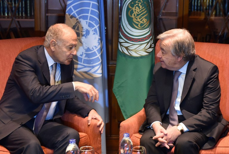 United Nations, Arab League Agree to Activate Cooperation