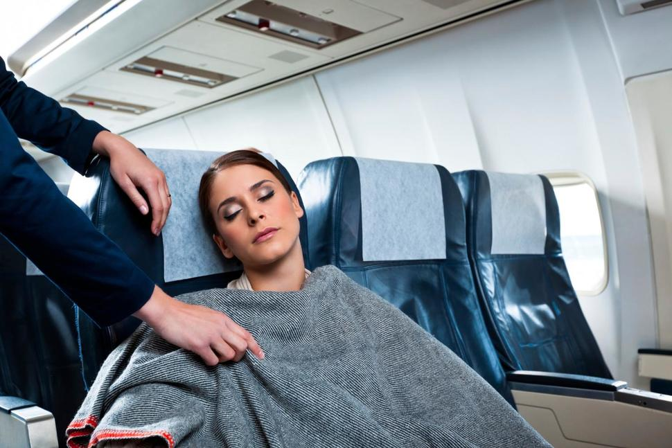 Sleeping in Planes May Damage Hearing